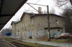 Dworzec kolejowy w Orzeszu