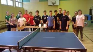 Wyniki Turnieju Tenisa Stołowego Szkół Gimnazjalnych