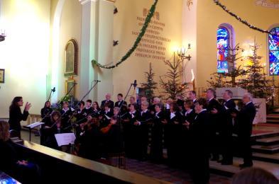 Noworoczny koncert kolęd w orzeskim kościele