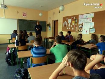 W sieci internetowej przemocy - spotkanie z młodzieżą z Orzesza