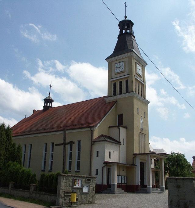 Parafia Zgoń - Kościół pw. Świętego Antoniego z Padwy