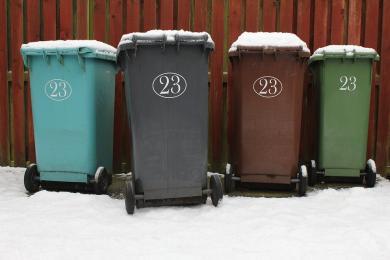 Zmiana harmonogramu odbioru odpadów