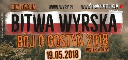 """Mundurowi zabezpieczali XIV edycję imprezy pn.""""Bitwa Wyrska"""""""