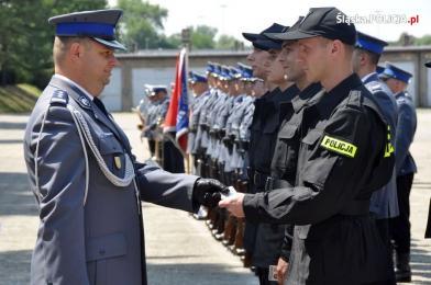 Uroczyste ślubowanie nowych policjantów