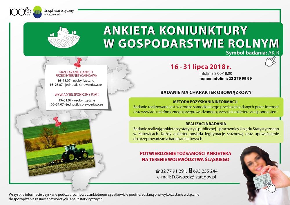 Ankieta koniunktury w gospodarstwie rolnym