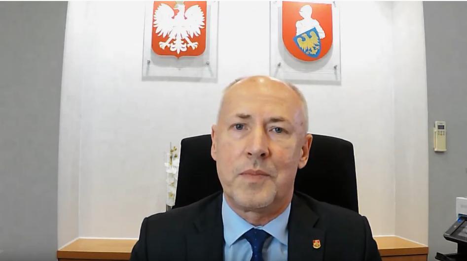 Posłuchaj apelu Starosty Powiatu Mikołowskiego dot. koronawirusa