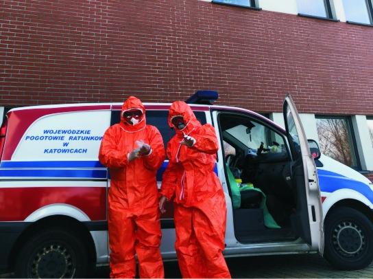 Wymazobus działa! 23 osoby z powiatu mikołowskiego już wiedzą, że nie mają koronawirusa