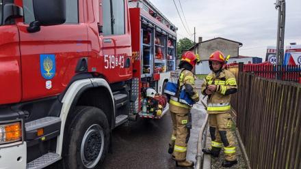 W Orzeszu doszło dzisiaj do tragicznego pożaru budynku mieszkalnego. Zginęły trzy osoby