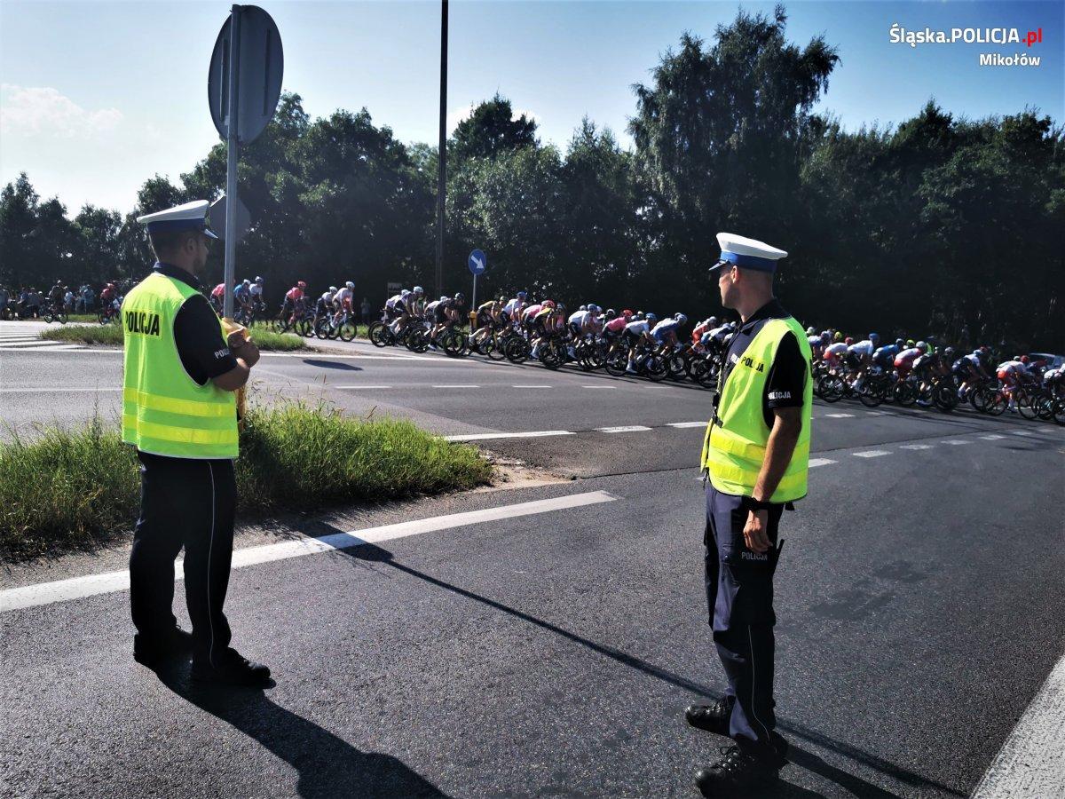 78. wyścig Tour De Pologne na ulicach powiatu mikołowskiego