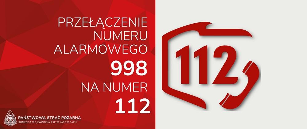 Przełączenie numeru alarmowego Straży Pożarnej