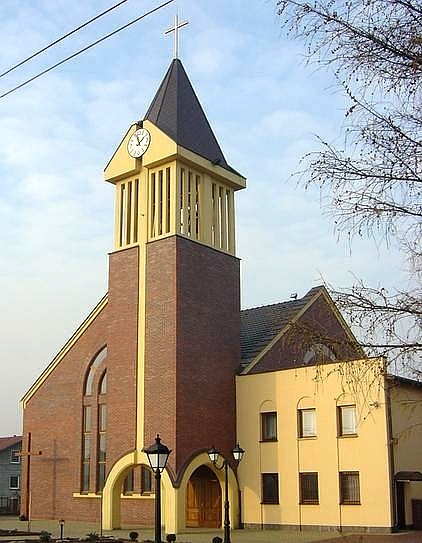 Zazdrość  - Kościół  pw. Miłosierdzia Bożego